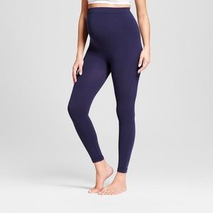 Isabel Maternity Seamless Footless Belly Leggings